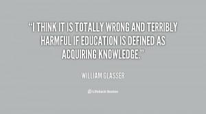 William Glasser Quotes