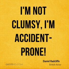 Clumsy Quotes