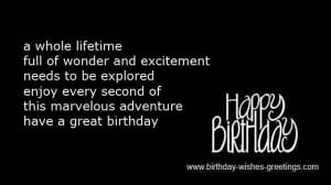 words for inspirational birthday wishes