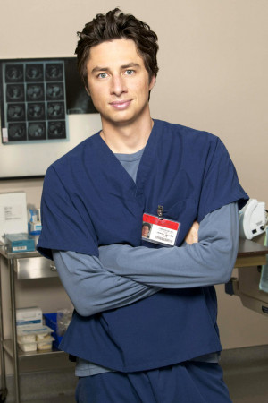 Zach Braff James Avery Death