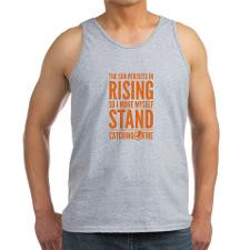Katniss Sun Persists In Rising Quote Tank Top for