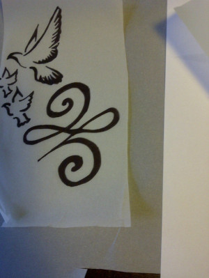 Like this New beginnings Tattoo...maybe some shading or a touch of ...