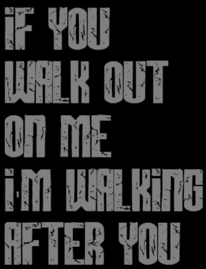 Foo Fighters - Walking After You Song Lyrics, Music, Quotes