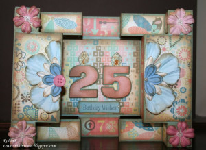 25th Birthday Card