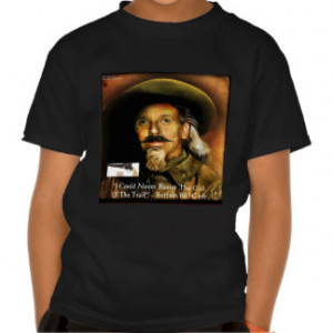 Buffalo Bill Cody His Gun & Quote Gifts & Cards T Shirts