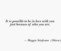 Shiver quotes♥ More