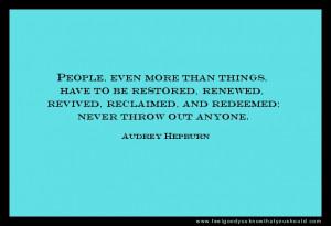 Audrey Hepburn Breakfast at Tiffany's #quotes