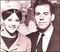 Frank Abagnale Jr. at 16, poses with a stewardess against a New York ...