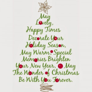 Back > Quotes For > Merry Christmas Quotes For Friends