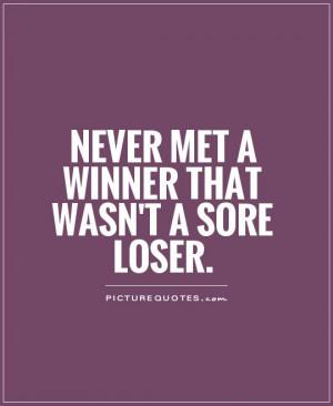 Never Met Winner That Wasnt...