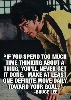 Wisdom from Bruce Lee