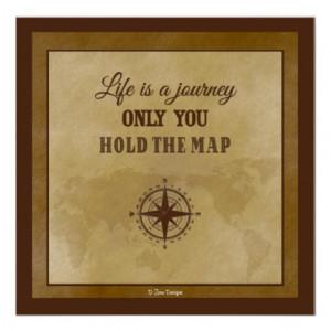 Life Direction Inspirational Spiritual Quote Print