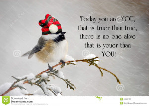 Inspirational quote about individuality by Dr. Suess, with a cute ...