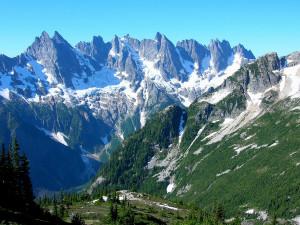 Mt. Fury Washington, Alpine Lakes Wilderness, Washington and Tatoosh ...