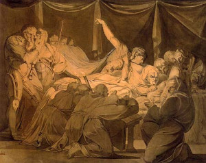 painting created by Henry Fuseli of a scene from King Henry VI ...