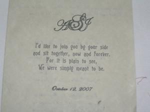 Wedding Program Quotes