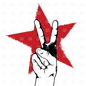 Symbols Maps Peace Hand...