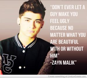 Zayn Malik Quote