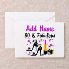 80Th Birthday Greeting Cards