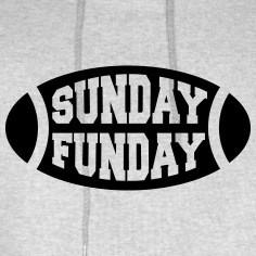 Sunday Funday Football Hoodies