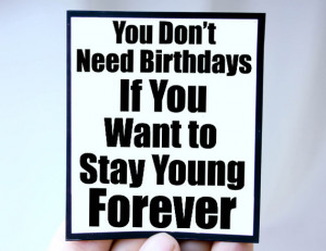 ... young mgt bir106 $ 3 00 forever young quote magnet quote you