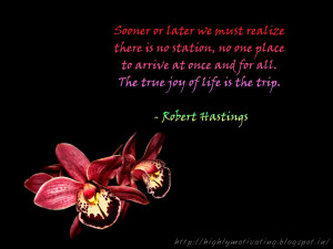 Inspirational Wallpaper - Life Quote by Robert Hastings