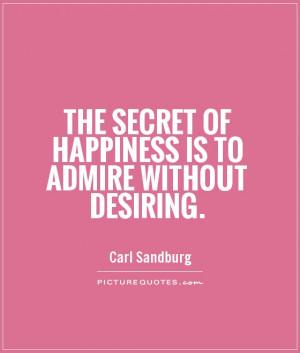 Secret Admire Quotes for Love