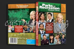 Parks and Recreation Season 3 dvd cover