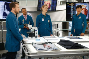 ... , Emily Deschanel, Tamara Taylor and T.J. Thyne in Bones (2005