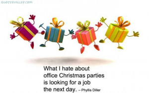 Hate About Office Christmas Parties