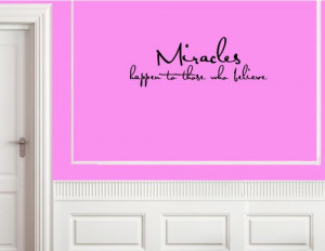 ... TO THOSE WHO BELIEVE Vinyl wall lettering stickers quotes and