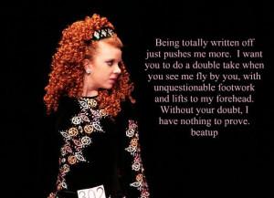 To Be An Irish Dancer.....