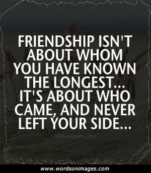 Quotes about true friendshi...