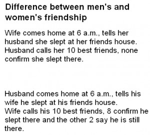 The Difference Between Men