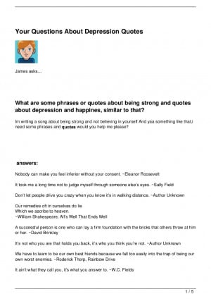 Overcoming Depression Tattoo Quotes Your-questions-about- ...