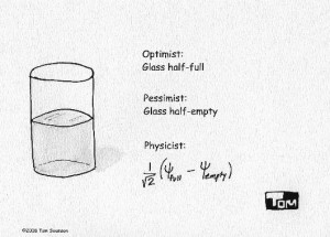 Is Your Glass Half-Empty or Half-Full?