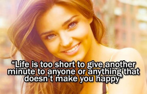 Quote from Miranda Kerr's new book called Treasure Yourself http ...