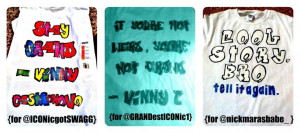 We Sell ICONic Boyz Shirts, Stickers, & more.