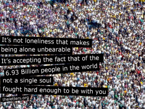 Sad Quotes About Being Alone