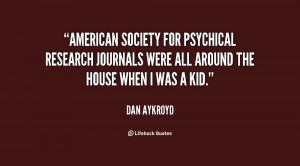 American Society for Psychical Research Journals were all around the ...