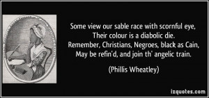 More Phillis Wheatley Quotes