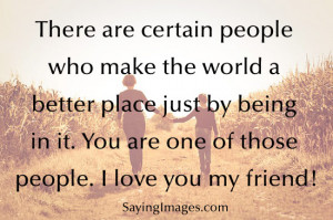 Daily Quotes: I Love You My Friend ~ Mactoons Inspirational Quotes ...