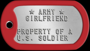 Military Wife Dogtags - Dog tags for Friends and Family of ...