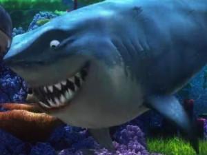 Bruce, a great white shark