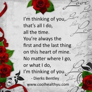 Thinking Of Him Cute Quotes Quotesgram