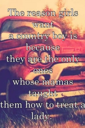 cute country quotes about country boys