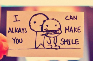Smile cute quotes about love