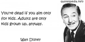 Walt Disney Quotes Sayings