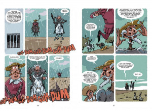 More Gorgeous Preview Pages from Rob Davis' Don Quixote