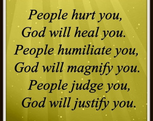 God will help you always as you will Trust Him